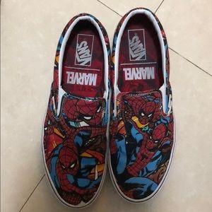 Spider-Man Slip-on Vans